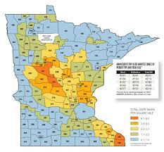 Mn State Parks Map Minnesota Deer Forecast For 2016 Game U0026 Fish