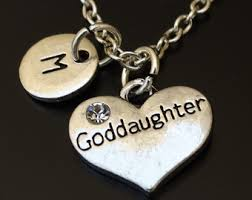 Goddaughter Charm Goddaughter Necklace With Poem Card Jewelry Gift For