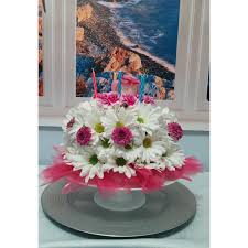 blooming birthday cake lighthouse flower shop mesa az local