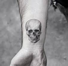 3d skull coolest small wrist designs for papijones