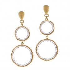 clip on earrings uk gold and silver clip on earrings from eternal collection