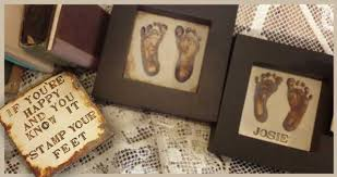 baby footprint ideas unique christening gifts christening presents with a difference