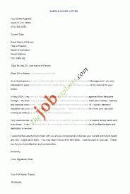 Resume Cover Examples by Sample Of Accounting Cover Letter For Resume