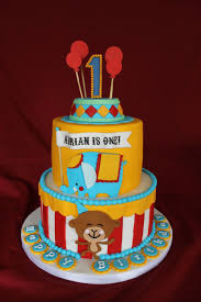 circus themed birthday cake circus themed cake for first birthday
