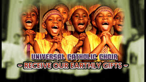 gozie okeke thanksgiving worship universal catholic choir receive our earthly gifts nigerian