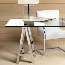 wood desk with glass top desk glass naderve info