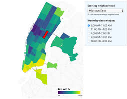 Citibike Map When Are Citi Bikes Faster Than Taxis In New York City Todd W