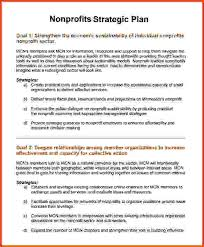 non profit proposal template nonprofit business planning template