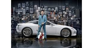 lexus is300h insurance group mark ronson partners with lexus to launch the new lc