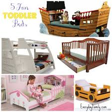 transitioning your child from crib to bed 5 fun toddler beds