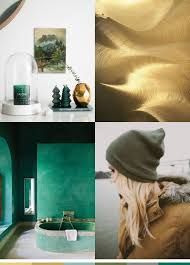 color me monday gold moss jade and emerald