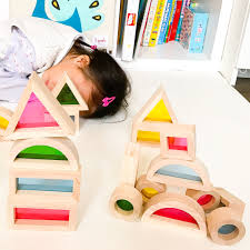 wooden toys wooden toys rainbow blocks jolly b kids