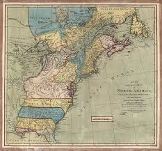 Blank Us Map by Of The British Colonies In North America 17631775 13 Colonies Map