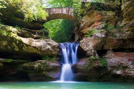 Ohio Waterfalls Map by Waterfalls And Hiking At Hocking Hills State Park Wander The Map