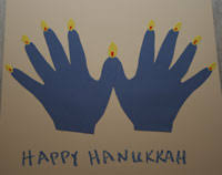 menorahs for kids hanukkah handprint craft re pinned by pediastaff