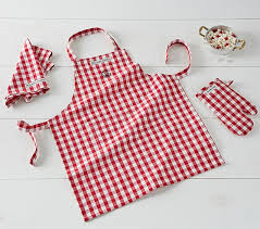 Williams Sonoma And Pottery Barn Williams Sonoma Apron Mitt And Towel Set Pottery Barn Kids