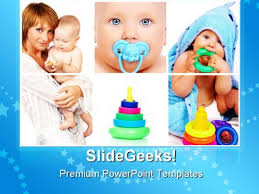 mother and child baby powerpoint templates and powerpoint