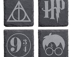 Harry Potter Bathroom Accessories Harry Potter Symbol Etsy