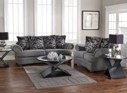 american furniture 2 piece gray microfiber living room set dark