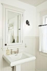 Beadboard Bathroom Wall Cabinet best 25 bathroom medicine cabinet ideas only on pinterest small