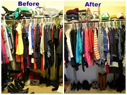 the big closet clean out a beautiful little adventure