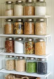 food canisters kitchen 22 pretty ways to organize your pantry open shelves organizations