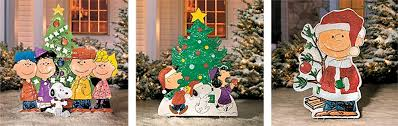 Exterior Christmas Decorations The Peanuts Christmas Decorations