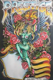 painting i did for the prestige tattoo convention