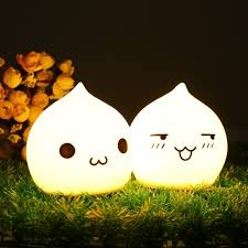 usb cat night light 7 color silicone cat night light cute cartoon usb rechargeable led