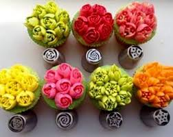 flower decorating tips icing tips etsy