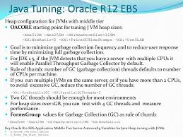 oracle r12 ebs performance tuning