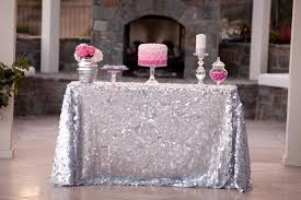 90 x 156 table new sale 90 x156 silver sequin tablecloth wedding table cloth