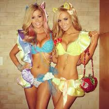 Playboy Halloween Costume Rainbow Dash U0026 Applejack Playboy Mansion Halloween Costumes Pics