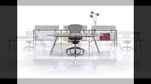 pre owned herman miller abak desk elegent office desks various