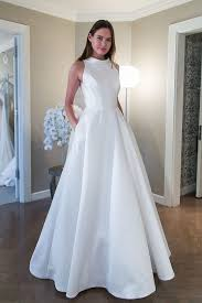 clean wedding dress 2018 wedding dress trends report spotted at ny bridal market sb g