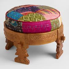 Animal Ottomans by Benches And Ottomans Storage Tufted U0026 Uphostered World Market