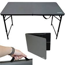 4 foot fold in half table coleman 4ft fold in half table picnic cing c 1377562 ebay