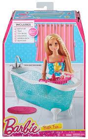 Barbie Glam Bathroom by Barbie Cfg69 Bath Fun Set Amazon Co Uk Toys U0026 Games