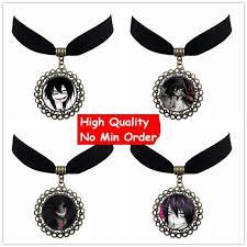 diy pendant choker necklace images Diy velvet choker creepy pasta ticci toby anime necklace jeff and jpg