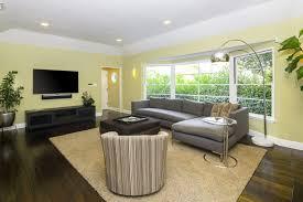 los angeles real estate livingroom interior daytime orange