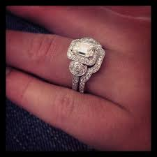 royal flush wedding band 1 10 ct emerald cut diamond wedding set engagement rings