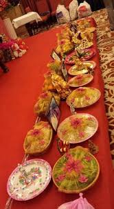 Indian Engagement Decoration Ideas Home Indian Engagement Trayz Indianwedding Com My Wedding Tray
