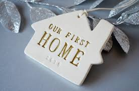 personalized christmas ornament our first home 2017 gift