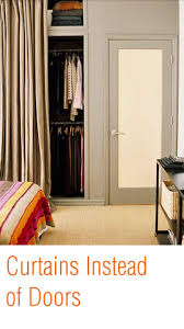 Closet Curtains Instead Of Doors Maximize Your Wardrobe By Organizing Your Closet 10 Minutes A Day