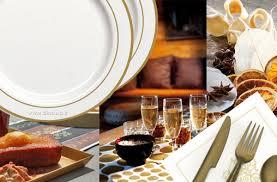 assiette jetable mariage et si vous utilisiez de la vaisselle jetable pour noël et pour