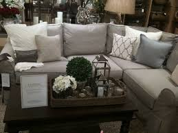 Grey Slipcover Sofa by Best 25 Pottery Barn Sofa Ideas On Pinterest Pottery Barn Table