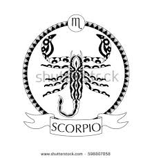 scorpio tattoo stock images royalty free images u0026 vectors