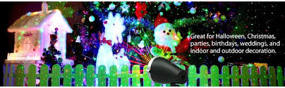 1byone christmas outdoor laser light projector with wireless