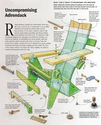 Rocking Adirondack Chair Plans Adirondack Chair Plans U2022 Woodarchivist