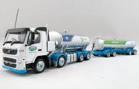 trailer volvo awesome diecast nz volvo fm500 milk tanker truck new zealand farm